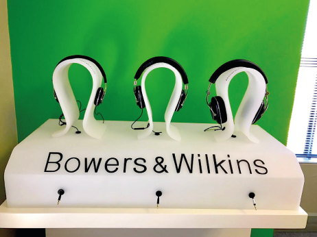 Bowers & Wilkins Display
