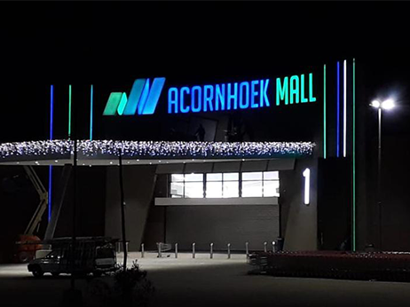 Acornhoek Mall – Illuminated Signage