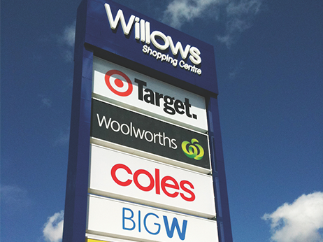 Willows Shopping Centre – Alupanel®